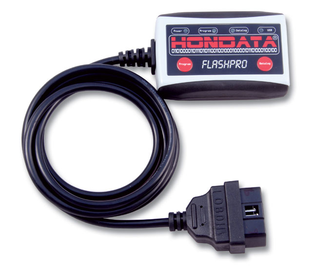 Hondata's FlashPro w/OBD-II cable